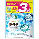 ボールド 洗濯洗剤 ジェルボール 洗濯水をデトックス 爽やかプレミアムクリーン 詰め替え 46個(約3倍)