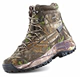 HANAGAL 6 Inches Men's Touraine Waterproof Lightweight Hiking Shoe Camouflage for Men Outdoor Hunting Boots US11.5 M EU45