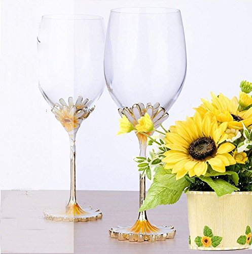 JARONG Tasse À Vin Rouge en Cristal De Verre sans Plomb De Grande Tasse Tasse Champagne,Ju