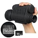 Boblov Bestguarder WG-50 a raggi infrarossi di visione notturna HD 720P IR...