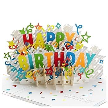 Hallmark Signature Paper Wonder Pop Up Birthday Card  Happy Birthday