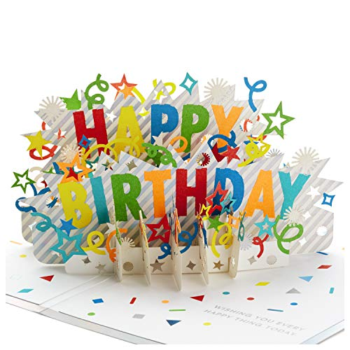 Hallmark Signature Paper Wonder Pop Up Birthday Card Happy Birthday Buy Online In India Hallmark Products In India See Prices Reviews And Free Delivery Over 4 000 Desertcart
