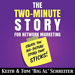 The Two-Minute Story for Network Marketing audiobook cover art
