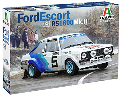 Italeri 3655 - Ford Escort Rs1800 Mk.II modellismo auto Model Kit Scala 1:24