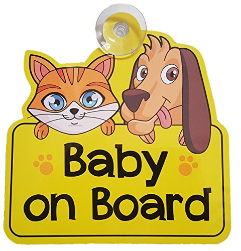 BABY ON BOARD car sign for car window - gift/present for new baby, girl, boy, kid, child, sticker, decal, vinyl