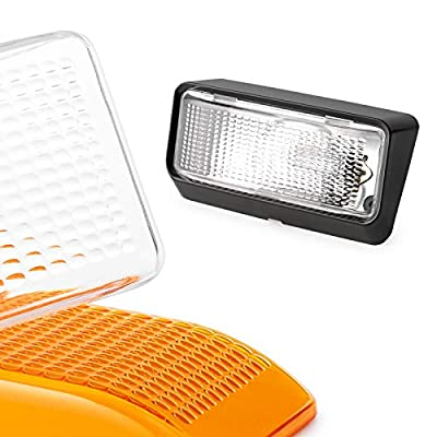 Lumitronics RV Porch Utility Lights with Clear & Amber Lenses