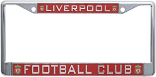 Anfield Shop Liverpool FC Red Inlaid License Plate Frame - Official Licensed Product - Great for Any LFC Fan - Makes A Great Gift! Show Your Support for Liverpool FC Soccer.