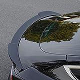 Fit Tesla Model 3 Spoiler Wing Sport Cars Rear Spoiler Car Styling Kits for Tesla Model 3 Accessories (Glossy Black)