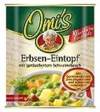 Omi's Erbsen-Eintopf mit geräuchertem Schweinebauch, 6er Pack (6 x 800 g)