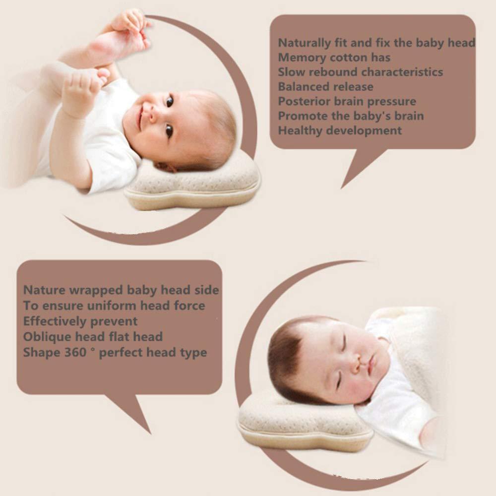 Anti Roll 0-6 Months Anti Flat Head Pillow onehouse Sleep Pillow Anti Spitting Milk
