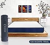Comforto Siesta 4 Inch Orthopaedic Dual Comfort Single Size Mattress (72x30x4 Inch, Foam) - Mattress in a Box