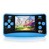 """Electronic Handheld Games for Children, 8 Bit Retro 182 Classic Games 2.5"""" LCD"""