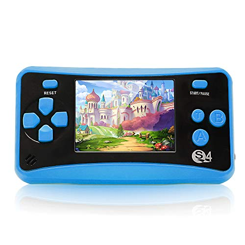 Handheld Game Console for Children, 8 Bit Retro 182 Classic Games Portable 2.5' LCD Screen Video Game Player Support for Connecting TV Retro Video Gaming System for Kids Boys Girls Ages 4-12
