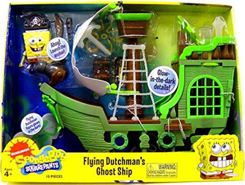 SpongeBob Squarepants Playset Flying Dutchman's Ghost Ship by Nickelodeon