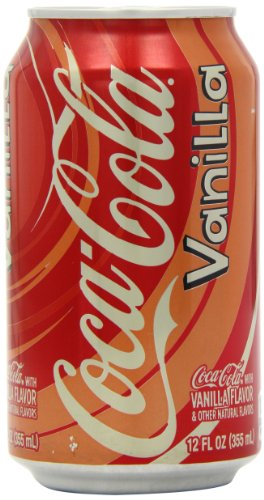 Coca Cola Vanilla 355ml x 12