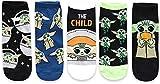 Star Wars Baby Yoda Juniors/Womens 5 Pack Ankle Socks