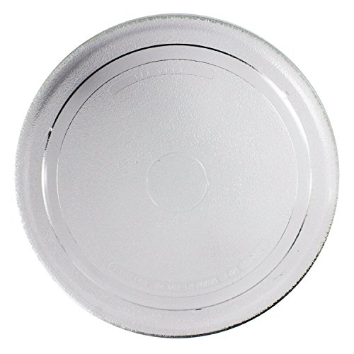 SPARES2GO Smooth Glass Turntable Plate for AEG Microwave Oven (270mm) by Spares2go