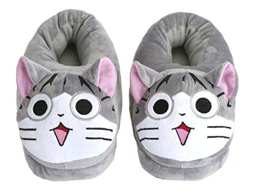 CoolChange Kuschelige Kleine Katze Chi Hausschuhe