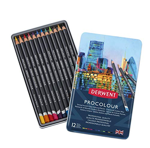 ダーウェント 色鉛筆 プロカラー 12色 セット 2302505