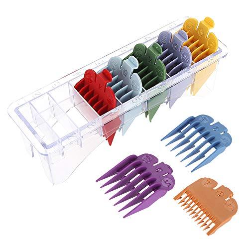 8 Stück Aufschiebekämme, Haarschneider, Replacement für Wahl Haarschneidegeräte maschine Aufsteckkamm-Set, Kammaufsätze Set (8 Stück)