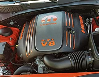 XPLORE OFFROAD - HEMI 5.7L V8 Engine Cover Decal Kit | Challenger Charger