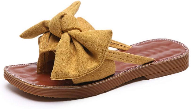 Women Flip Flops Summer Slipper Fashion Bow-Tie Platform Female Slides shoes Casual Beach shoes