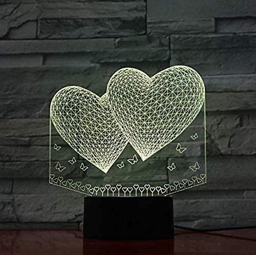 Illusion Lamp 3D Led Night Lights Usb Baseball Player Figura de acción Night Lights Niños Regalos para niños Baby Night Lights Lámpara de mesa deportiva Mesita de noche