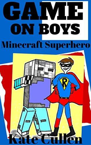 GAME ON BOYS Minecraft Superhero Game on Boys Series Book 4 product image