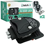 "Rv Keyless Entry Door Lock | 2021 RV Lock Keyless Entry | 100% Metal Rv Door Lock w/ 2 Fobs and Backlit Keypad | Protective Gasket, Screwdriver & 2 Keys | Will Only Fit 2.75"" x 3.75"" Lock Hole"