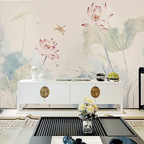 MILUSEN fotobehang, handbeschilderd, papierinkt voor woonkamer