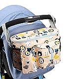 Bolsos para Carritos De Bebe Bolso Organizador Silla Paseo Cochecito Bolsas Cochecitos de bebé Organizador Cochecito de bebé Accesorios Yellow