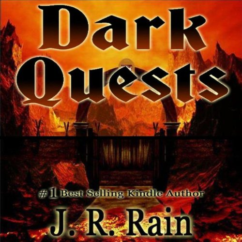 Dark Quests audiobook cover art