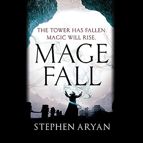 Magefall audiobook cover art