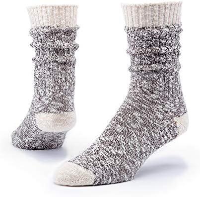 Maggie s Organics Organic Cotton Ragg Socks for Women Men 1 Pair Unisex Casual Loose Nubby Knit product image