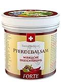 SwissMedicus, balsamo all'ippocastano, riscaldante, extra forte, 500 ml, gel da massaggio caldo per schiena e articolazioni, contiene 25 estratti di erbe