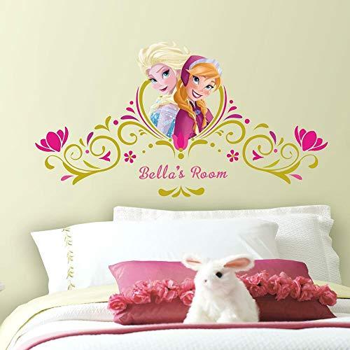 Sticker Géant Repositionnable Disney la Reine des Neiges Tête de Lit