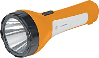Havells Pathfinder 30 3-Watt Rechargeable LED Torch (Yellow)