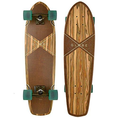 Globe Herren Tracer Classic Skateboard, Applewood/Hemp, 31.125