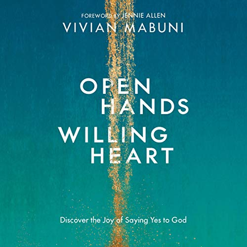 Open Hands, Willing Heart audiobook cover art