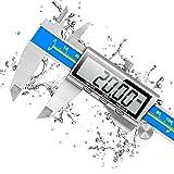 Schieblehre Industriequalität, Orthland Messschieber Digital Messlehre mit Hoch Messgenauigkeit & Groß LCD, Tiefenmesser