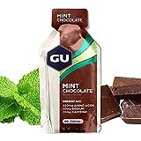 GU Energy Original Sports Nutrition Energy Gel, 24-Count, Mint Chocolate