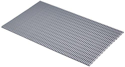 EHA 93771 Nassraummatte, grau, Breite 100 cm x Länge 60 cm