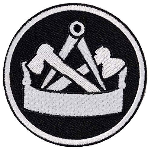 Aufnäher Aufbügler Zimmermann 8 cm Arbeitskleidung