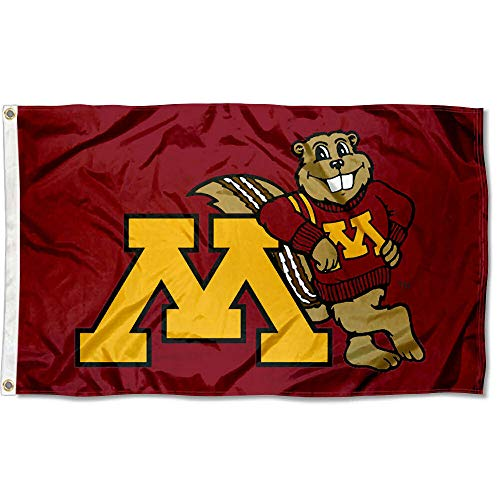 College Flags & Banners Co. Minnesota Gophers Goldy 3x5 Flag
