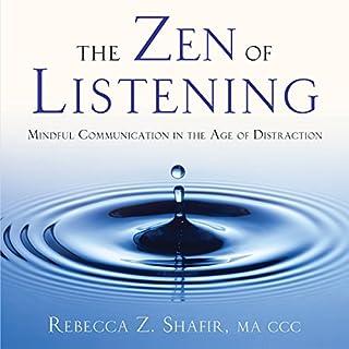 The Zen of Listening audiobook cover art