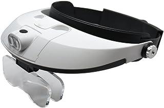 Grobet LED Illuminating headband magnifier