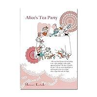 Shinzi Kato 【B5サイズノートブック】 (Alice tea party)