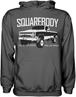 Aggressive Thread Squarebody Chevy Truck Hoodie Sweatshirt