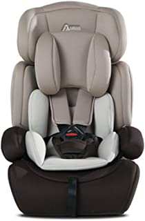 Simple Portable Child Safety Seat, Baby Car Seat, Environmentally Comfortable Car Seat 9 Months-12 Years Old,Gray