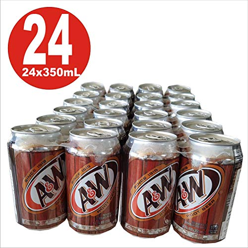 A&W Root Beer 12oz (355mL)  24 Pack inkl. 6,00 Euro DPG-Pfand